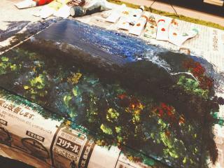 絵描き画像