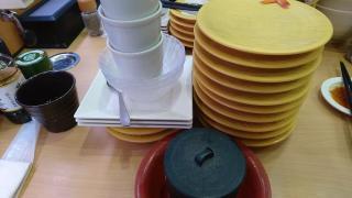 ▼ お寿司の食べ放題に挑戦。画像