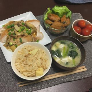 最近の夕飯.*画像