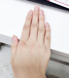 今日は手♪画像