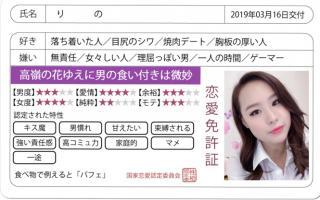 りのの恋愛免許証///画像