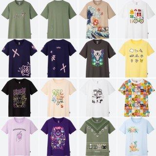 ユニクロのポケモンTシャツ画像