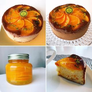 オレンジケーキ画像