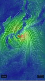台風…画像