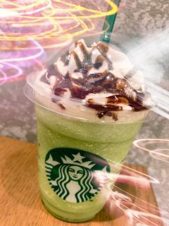 抹茶フラペチーノ(=´∀`)画像