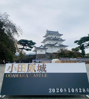 小田原城に行ってきましたよ^_^画像