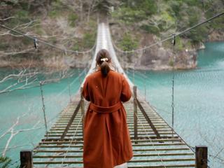 夢の吊り橋!画像