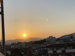 素敵な夕日を📸画像