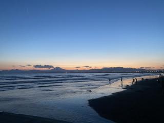 ❤くるみ通信 ~2~❤ ビーチで夕焼け見てきたよ!画像