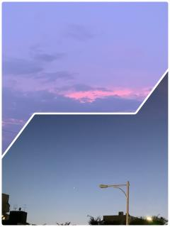 きれいなお空☁️⭐️画像