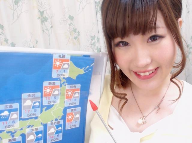 今日のお天気予報♪(イベントお礼)